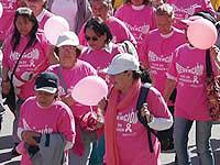 La E.S.E. de Soacha caminó por una vida sin cáncer de seno