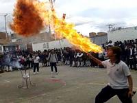 En la Institución Educativa  San Mateo inició Arte por la paz