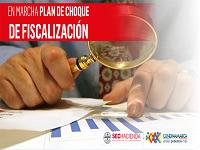 Plan de choque de fiscalización en Cundinamarca