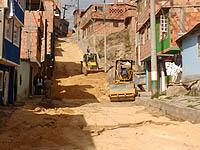 Proyecto de mejoramiento vial en el barrio Balcanes de Soacha
