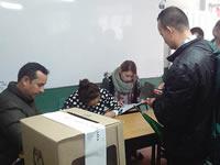Con lluvia pero sin contratiempos comenzó jornada del plebiscito en Soacha