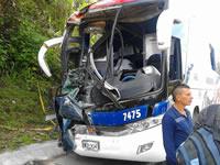 16 heridos en carreteras de Cundinamarca tras choque de dos flotas