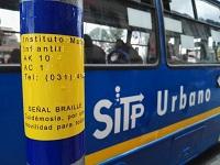 SITP instala espacios para personas con discapacidad visual