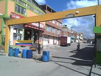 A merced de  ladrones,  invasores y el tráfico pesado, quedó  conjunto residencial San Carlos de Soacha