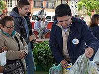 Primera entrega de mercados para beneficiados del programa Banco de alimentos de Sibaté