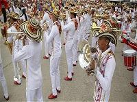 El departamento fue el ganador nacional de bandas en Paipa