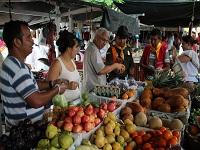 Cundinamarca  presente en  Mercado Campesino  de  la Plaza de Bolívar