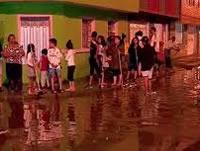 Lluvias inundan calles de la comuna tres de Soacha
