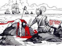 Punk  suachuno para conmemorar  la resistencia  indígena ante la conquista europea