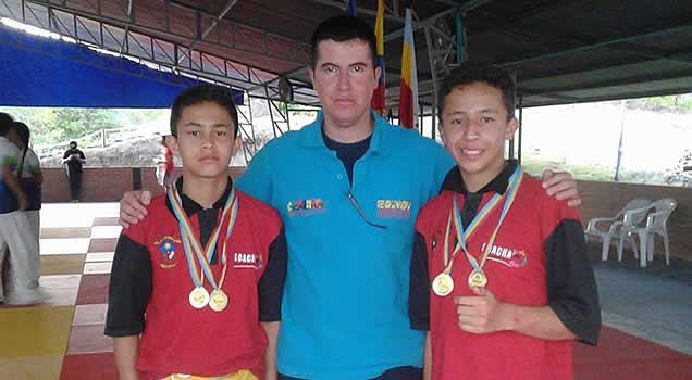 Club de Judo y Jiu-Jitsu Soachuno arrasó en los Juegos Supérate departamentales