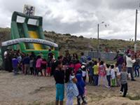 Policía de Soacha celebró día del niño en Altos de la Florida