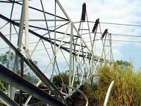 Derribada torre de energía en Mondoñedo, Cundinamarca