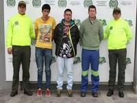 Capturados delincuentes  en Cundinamarca