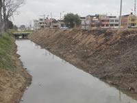 Después de inundar cinco barrios fue dragado el canal  río Claro en Soacha