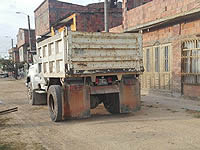 Paso de camiones afecta estructura de las viviendas en un sector de Soacha