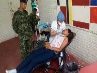 Ejército lleva brigada de salud a Apulo