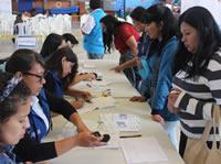 Cerca de mil  soachunos participaron en jornada de formación técnica y laboral
