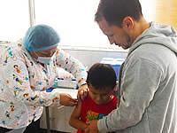 En Soacha se garantiza la salud de niños y adultos mayores para la época de invierno