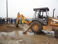 Con motobombas y maquinaria Alcaldía de Soacha soluciona inundaciones