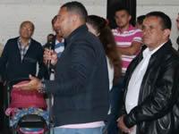 Alcalde de Soacha, Eleázar González le cumple a la comuna seis