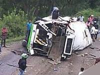 Volcamiento de vehículo en la vía Fusagasugá- Bogotá no deja víctimas fatales