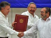 Colombia logra finalizar acuerdos con las Farc