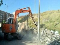 Demolido el muro ubicado en la localidad de Ciudad Bolívar
