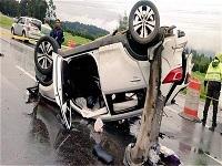 Alerta por accidentes viales en la Sabana