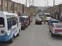 Invasión de vías genera caos en la movilidad de Soacha