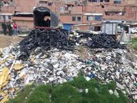 Invasión genera alerta por contaminación ambiental en Soacha