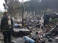 Tres heridos deja explosión de polvorería en Sibaté