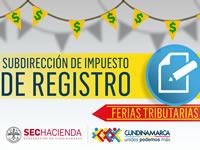 Continúan Ferias Tributarias en Cundinamarca