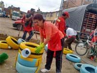 Ciudad Latina se unió a la campaña 'Limpiemos a Colombia'