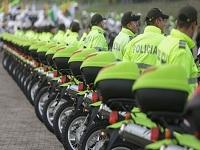 Bogotá entrega  automotores nuevos a Policía,  Fiscalía y el Ejército