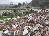 Soacha  se inunda de basuras y escombros