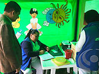 E.S.E. de Soacha participó en la Feria temática de servicios