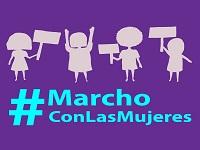 Este viernes asista a la marcha «Mujeres sí a la Paz, violencia ni una más» la marcha