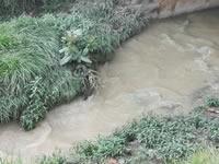 Por falta de mantenimiento, aguas contaminadas del río Soacha se devuelven  a las viviendas
