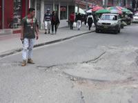 Mil millones de pesos para recuperar  malla vial en San Mateo