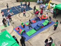 E.S.E. de Soacha realizó  Feria de Familias Integrales