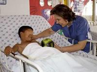 Niños hospitalizados de Soacha recibirán regalos de navidad