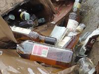 Secretaría de Hacienda destruye más de 142 toneladas  de licores y cigarrillos