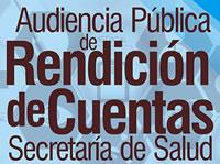 Secretaría de Salud rendirá cuentas de la vigencia 2016