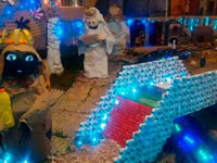 Ciudad Latina tercer sector ganó el concurso de pesebres de Aseo Internacional
