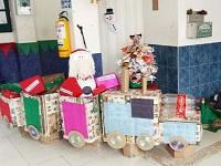 La E.S.E. de Soacha se vistió de Navidad en todas sus sedes