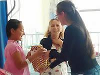Navidad para los niños del Hospital Cardiovascular de Soacha