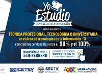 Reabren inscripciones para carreras TI en Cundinamarca
