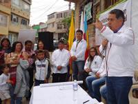 Después de 35 años se legaliza el barrio Los Cristales de la comuna seis