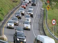 Restricciones viales en varios departamentos del país