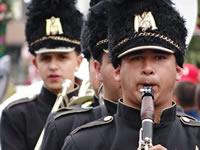 Banda de Facatativá marcó el paso en Feria de Manizales